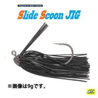 HIDEUP Slide Scoon Jig  7g #004 Black Blue F